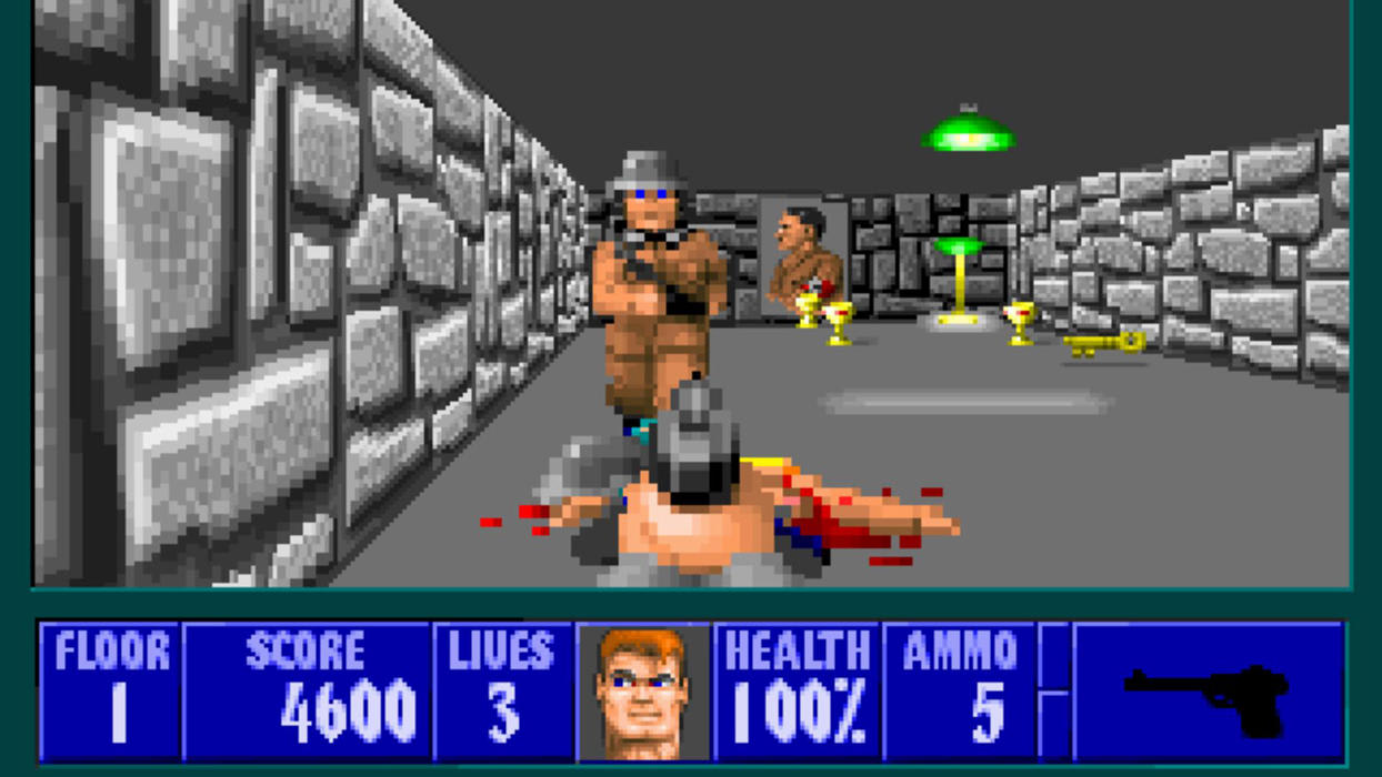 Wolfenstein 3D - id's Original Shooter