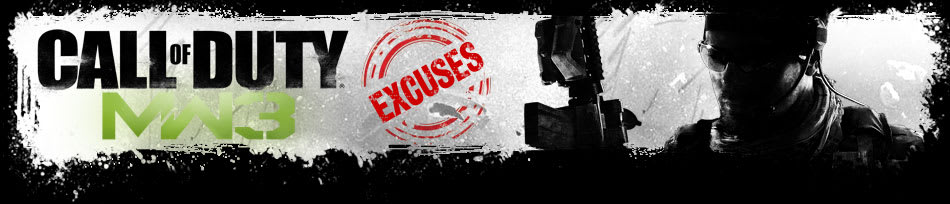 Excuses to Play Call of Duty: Modern Warfare 3