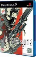 Metal Gear Solid 2 on PlayStation 2