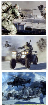 Battlefield Bad Company 2 (PC, PS3 & X360, 2010) Screens