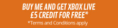 Buy Xbox Live £50 Credit and get Xbox Live £5 credit for free - at GAME.co.uk