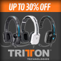 GAME Recommends - Up to 30% Off Selected Tritton headset
