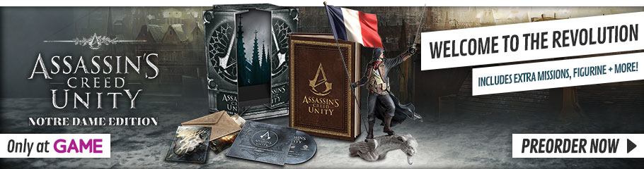 Assassin's Creed: Unity - Notre Dame Edition  - Preorder Now at GAME.co.uk!