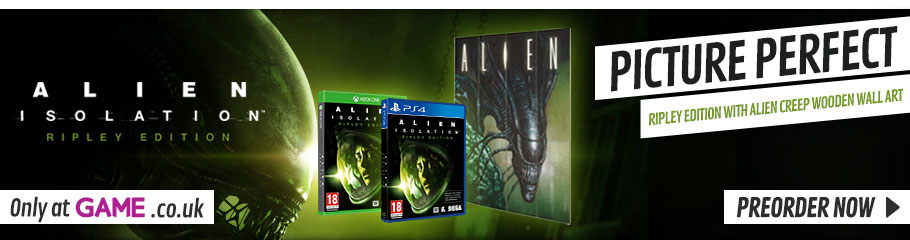 Alien: Isolation Only at GAME - Preorder Now at GAME.co.uk!