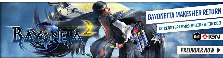 Bayonetta 2 - Preorder Now at GAME.co.uk!
