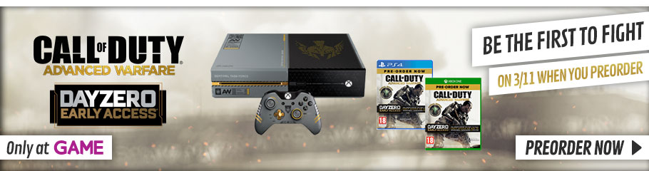 Call of Duty: Advanced Warfare - Preorder Now at GAME.co.uk