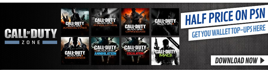Call of Duty Downloads Half Price this weekend only - Download Now at GAME.co.uk