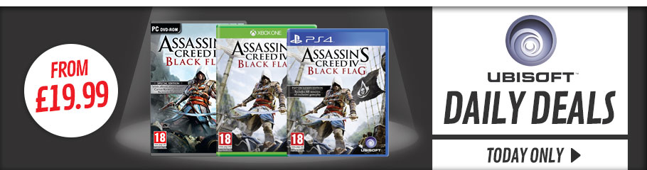 Ubisoft Deal of the Day - Buy Now Only at GAME.co.uk