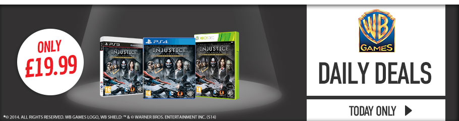 Great Deals on Warner games  - Buy Now at GAME.co.uk!
