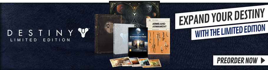 Destiny Limited Edition - Preorder Now at GAME.co.uk!
