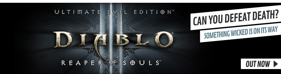 Diablo III Reaper of Souls Ultimate Evil Edition - Preorder Now at GAME.co.uk!