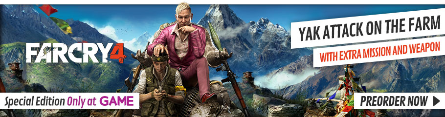 Far Cry 4 Special Edition with Yak Farm Pack - Preorder Now, Only at GAME.co.uk!