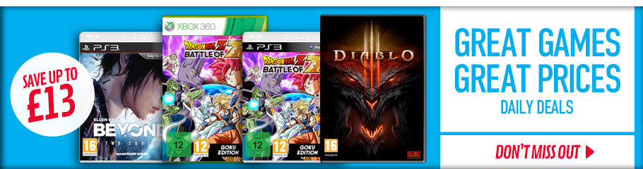 Great Games Daily Deals - Buy Now at GAME.co.uk!