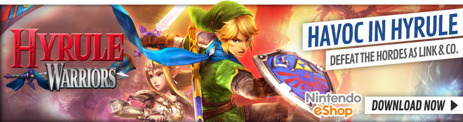 Hyrule Warriors - Preorder Now at GAME.co.uk