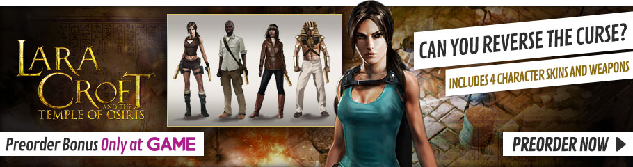 Lara Croft and the Temple of Osiris - Preorder Now at GAME.co.uk!