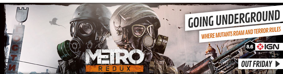 Metro Redux - Preorder Now at GAME.co.uk!