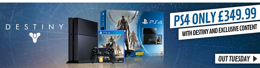 White PlayStation 4 with Destiny - Preorder Now at GAME.co.uk!