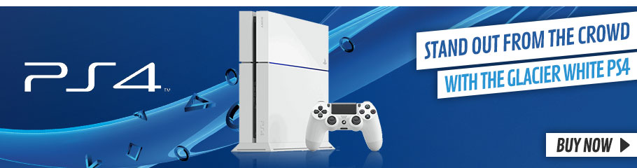 White PlayStation 4 Console  - Buy Now at GAME.co.uk!