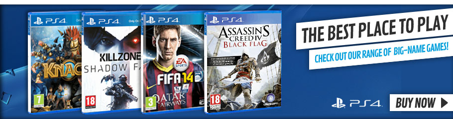 Playstation 4 Games - Buy Now at GAME.co.uk!