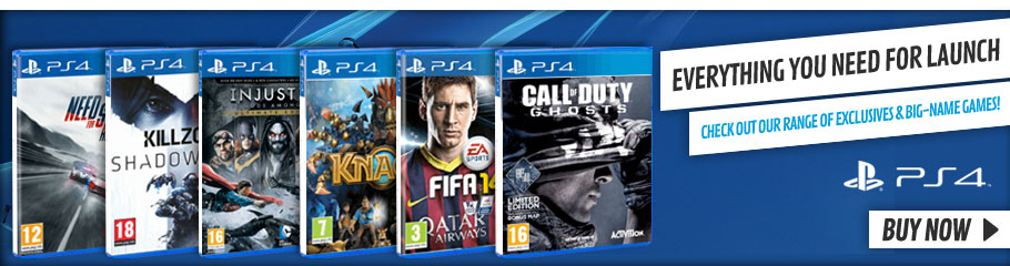 Playstation 4 Games - Preorder Now at GAME.co.uk!