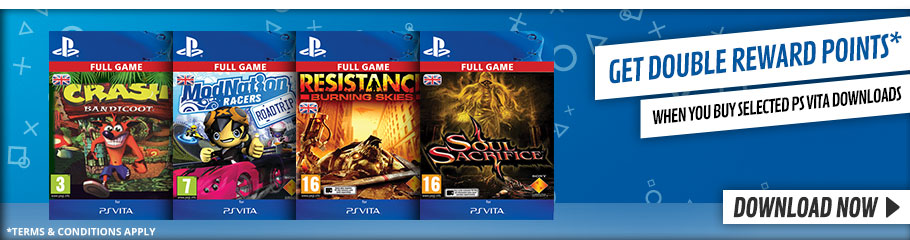 Download great games on PlayStation Vita - Buy Now at GAME.co.uk!