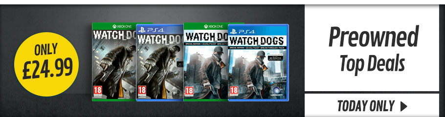Preowned Daily Deals- Buy Now at GAME.co.uk!
