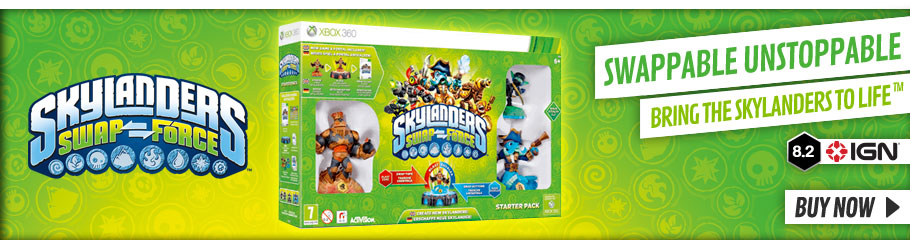 Skylanders Swapforce - Buy Now at GAME.co.uk!