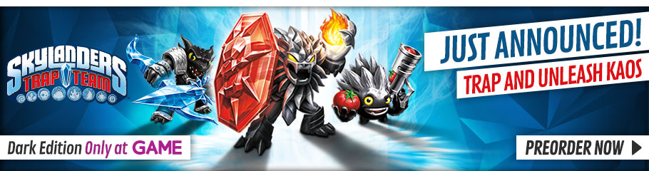 Skylanders Trap Team Dark Edition - Buy Now at GAME.co.uk