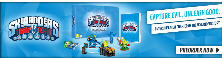 Skylanders Trap Team - Preorder Now at GAME.co.uk!