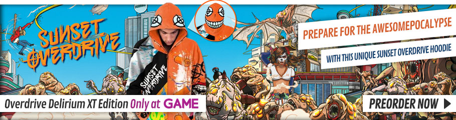 Sunset Overdrive: Overcharge Delirium XT Edition  - Preorder Now at GAME.co.uk!
