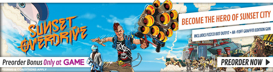 Sunset Overdrive - Preorder Now at GAME.co.uk!