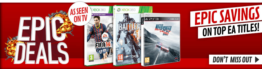 EA Titles - Buy Now at GAME.co.uk!