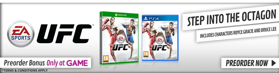 EA Sports UFC - PreorderNow at GAME.co.uk!