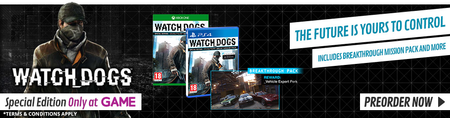 Watchdogs Vigilante Edition - Preorder Now at GAME.co.uk