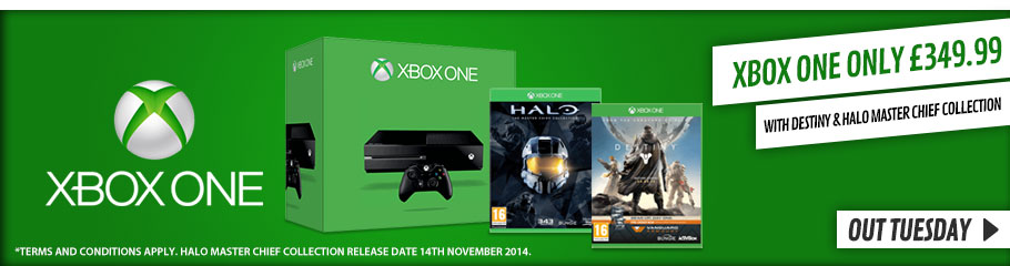 Xbox One with Destiny - Preorder Now at GAME.co.uk!