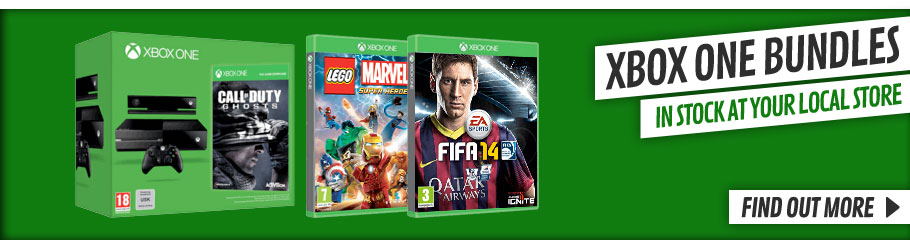 Xbox One Bundles - Buy Now in store or online at GAME.co.uk