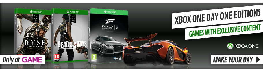 Xbox One Day One Editions - xx Now at GAME.co.uk!