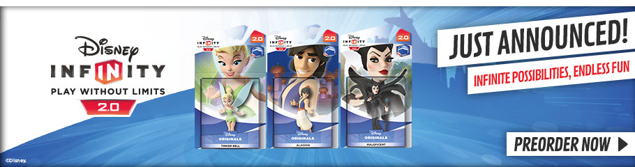 Disney Infinity 2.0 Toy Boxes  - Preorder Now at GAME.co.uk!