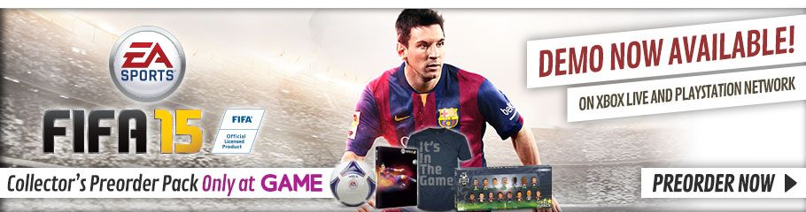 FIFA 15 - Preorder Now at GAME.co.uk!