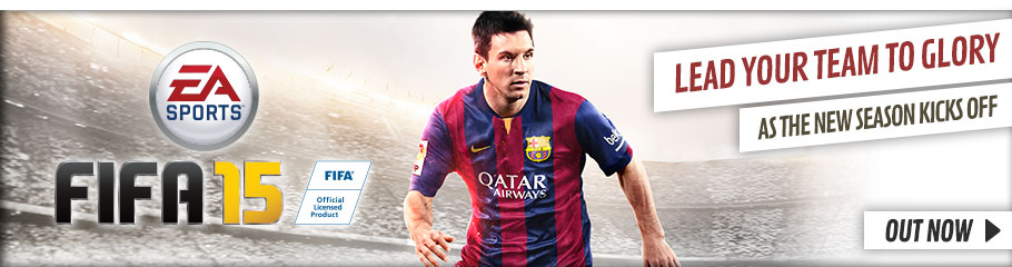 FIFA 15 - Buy Now at GAME.co.uk!