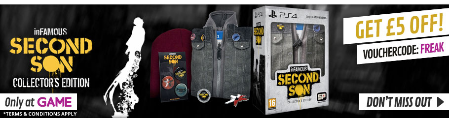 inFamous Second Son- Preorder Now at GAME.co.uk!
