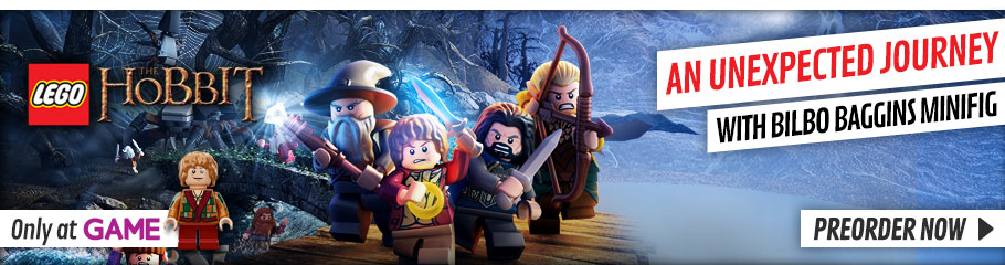 LEGO Hobbit Exclusive - Preorder Now at GAME.co.uk!