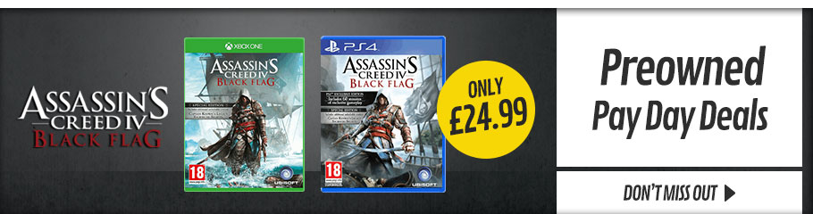 Preowned Pay Day Deals  - Buy Now at GAME.co.uk!