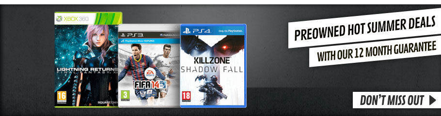 Preowned Summer Sale  - Buy Now at GAME.co.uk!
