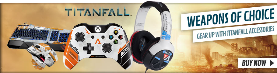 Titanfall Accessories -  Buy Now at GAME.co.uk!