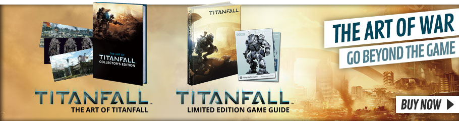 The Art of Titanfall and Strategy Guide- Buy Now at GAME.co.uk!