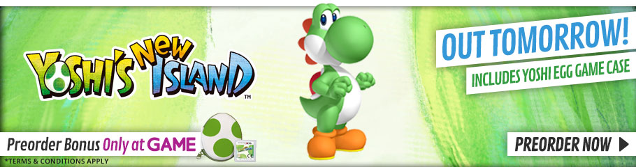 Yoshi's New Island - Preorder Now at GAME.co.uk!