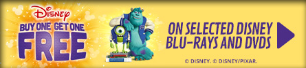 BOGOF On Disney Movies - Terms and Conditions Apply - at GAME.co.uk!
