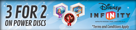 Disney Infinity Power Discs 3 for 2 - at GAME.co.uk!