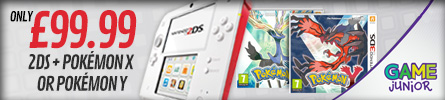Game Junior - Nintendo 2DS Bundle - at GAME.co.uk!